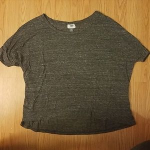 Old Navy heathered gray t shirt